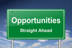 Opportunities sign Stock Image