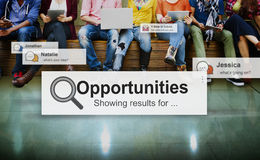 Opportunities Skill Achievement Development Concept Stock Image