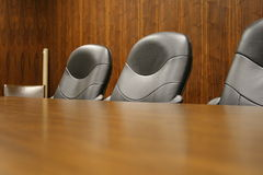 Opportunity. Empty chairs in an office is a symbol for opportunity or vacancies in the workplace Royalty Free Stock Photography