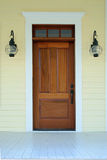 Opportunity. Simple doorway representing opportunity, or architectural detail Stock Image