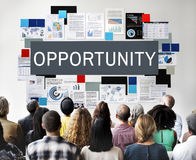 Opportunity Business Career Corporate Finance Concept stock image