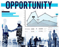 Opportunity Chance Achievement Statistics Success Concept Stock Images