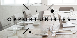Opportunity Chance Choice Decision Occasion Opportunities Concept royalty free stock photography