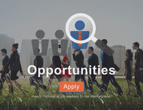 Opportunity Chance Choice Decision Occasion Opportunities Concep Stock Photos