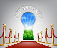 Opportunity conceptual illustration Royalty Free Stock Photo