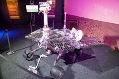 Opportunity rover at exhibition Cosmos Royalty Free Stock Images