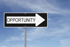 Opportunity This Way Royalty Free Stock Image