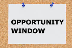 Opportunity Window concept Royalty Free Stock Photos
