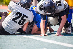 The opposing team tackler Royalty Free Stock Image