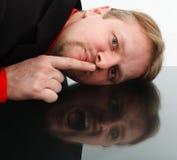 Opposite behavior of man Royalty Free Stock Images