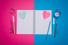 Opposites attract Royalty Free Stock Photography