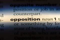 opposition royaltyfria foton