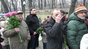 The opposition activist Konstantin Jankauskas was released from stock video