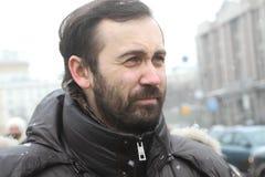 Opposition Leader Ilya Ponomarev Stock Photography