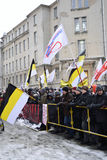 Opposition rally in St. Petersburg Royalty Free Stock Image