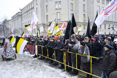Opposition rally in St. Petersburg Stock Image