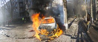 Opposition violente des citoyens Photographie stock libre de droits