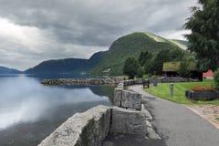 Oppstrynsvatnet lake at Geirangerfjord area, Hellesylt - Norway - Scandinavia Royalty Free Stock Image