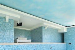 opróżnić basen opływa Zdjęcia Royalty Free