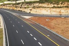 Opróżnia autostradę Obraz Stock