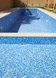 opróżnia basenu dopłynięcie Obrazy Royalty Free