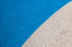 opróżnia basenu dopłynięcie Zdjęcia Royalty Free