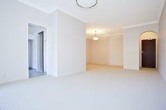 Opróżnia biały pokój Obraz Stock
