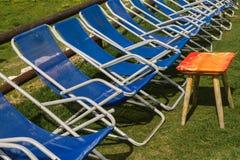 Opróżnia krzesła Obraz Royalty Free
