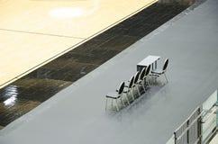 Opróżnia krzesła Fotografia Royalty Free