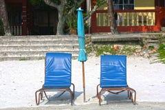 Opróżnia krzesła Zdjęcie Stock