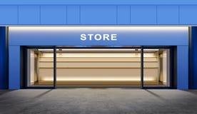 opróżnia sklep Obrazy Stock