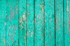 Opróżnia starą obieranie farby drewna powierzchnię Textured tło dla produktu i karmowego składu z przestrzenią dla teksta Fotografia Stock