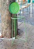 Opróżnia stojaka dla torba na śmiecie Obrazy Royalty Free