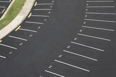opróżnia udział liczącego parking obrazy stock