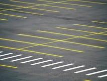 opróżnia udziału parking Obrazy Royalty Free
