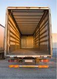 opróżnij ciężarówkę. zdjęcia royalty free