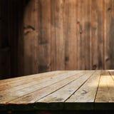 opróżnij stół Fotografia Stock