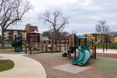 Opróżnia dzieciaka ` boisko Obrazy Royalty Free