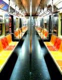 opróżnia metro Fotografia Stock