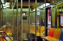 opróżnia metro Zdjęcie Stock
