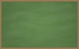 Opróżnia zielonego chalkboard Zdjęcia Royalty Free