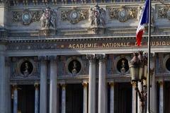 Opéra Garnier façade Royalty Free Stock Photos