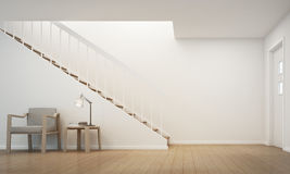 opracowane do domu żywy wewnętrznego styl retro pokoju Obrazy Stock