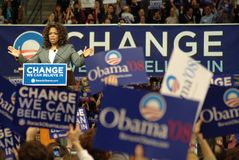 Oprah Change Foto de Stock