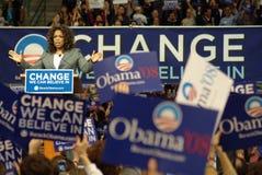 Oprah Change Stock Photo