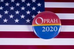 Oprah 2020 kandyday na prezydenta Zdjęcia Stock