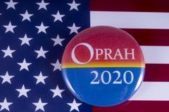 Oprah 2020 kandyday na prezydenta Obrazy Royalty Free