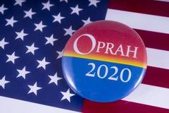Oprah 2020 kandyday na prezydenta Zdjęcie Royalty Free