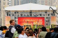 Oprah Startmassen Stockbilder
