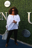 Oprah Winfrey attends US Open 2015 tennis match between Serena and Venus Williams. NEW YORK - SEPTEMBER 8, 2015: Oprah Winfrey attends US Open 2015 tennis match Stock Photography